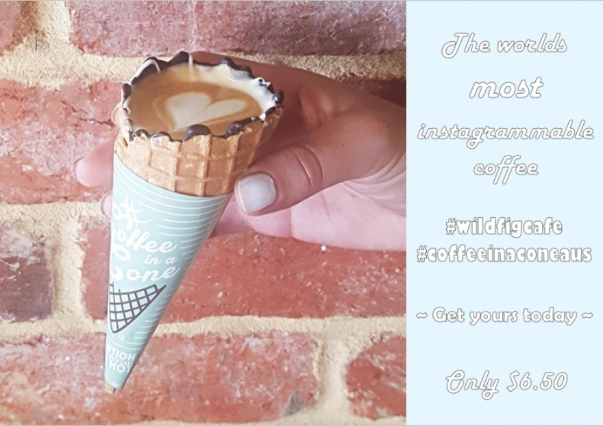 Coffee in a Cone