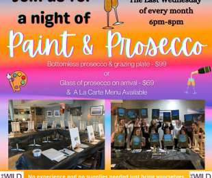 Paint and Prosecco Nights