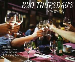 BYO Wine Thursday's